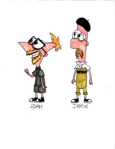 :D Phineas and Ferb, the Mythbusters