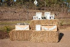 Hay Bale Wedding Decorations - Bing images