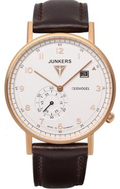 Junkers Watch Eisvogel F13 #2015-2016-sale #bezel-fixed #black-friday-special #bracelet-strap-leather #brand-junkers #case-depth-7mm #case-material-rose-gold-pvd #case-width-40mm #classic #date-yes #delivery-timescale-1-2-weeks #dial-colour-silver #gender-mens #movement-quartz-battery #official-stockist-for-junkers-watches #packaging-junkers-watch-packaging #sale-item-yes #style-dress #subcat-eisvogel-f13 #supplier-model-no-6732-4 #vip-exclusive #warranty-junkers-official-2-year-guarantee…