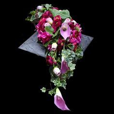 Dekoracja nagrobna Nr 622 - Greendeco - IN STYLE Grave Flowers, Sympathy Flowers, Funeral, Floral Wreath, Gardening, Crown, Wreaths, Handmade, Decor