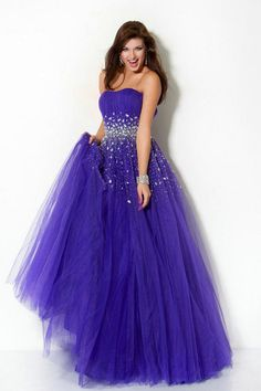 Pretty 2012 Prom Dresses Plus Size Prom Dresses Hot Selling Blue A Line Strapless online shop affordable for fashion