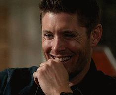 Love Dean laughing like this... Weird place to find this