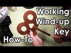 DIY: How to make a Working Wind-up Key - YouTube (dance jazz class)