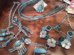 Turquoise and blues Blues, Charmed, Turquoise, Jewellery, Bracelets, Fashion, Moda, Jewels, Fashion Styles