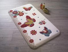 Newry Bath Mat Charlton Home L Shaped Bath, Best Bath, Marlow, Hazelwood Home, Bath Mat Sets, Wooden Flooring, Accent Colors, Confetti, Textiles