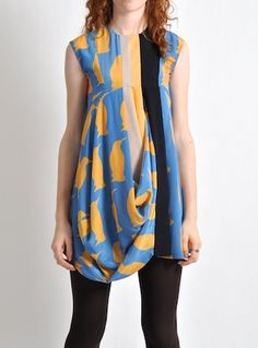 Penguin dress by Charlotte Taylor