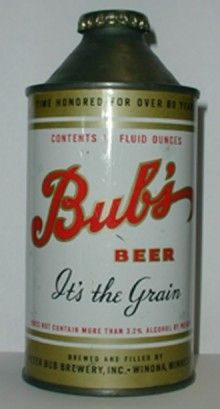 Bubs Beer Can. I WANT THIS.