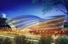 Futuristic Architecture Concept: St Louis architecture