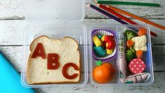 Make the first few days of school extra-special with creative lunches made with wholesome goodness and lots of love.