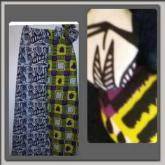 Check out this item in my Etsy shop https://www.etsy.com/listing/274292952/african-print-maxi-two-tone-skirt