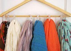 Rangement pour accessoires de vêtement