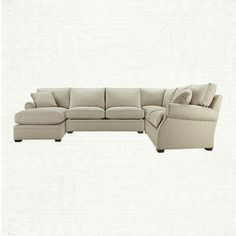 den sofa - like the lines, not sure if sectional is the right fit for the space.  Wouldn't pick this color