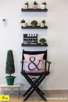 A plant is an easy must-have decor piece for your home. If you happen to have a reading corner in your home, that's always a great spot for a plant. And even if you don't have enough counter space to add a plant, consider putting a small succulent on a shelf. #seripajam #advertising #creative #ideas #tips #interiordesign #innovative #poster #beautiful #cushion #furniture #curtain #spacious #decor #decoritem #vintage #relaxation #comfortable #DIY #walldecor A Shelf, Shelves, Small Succulents, Counter Space, Dining Area, Decorative Items, Ladder Decor, Creative Ideas, Terrace