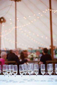 Elegant   Intimate Outdoor Backyard Wedding in Wisconsin