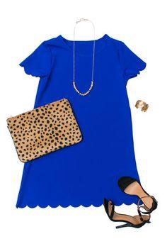 Love This Feeling Dress, Royal Blue $44.00