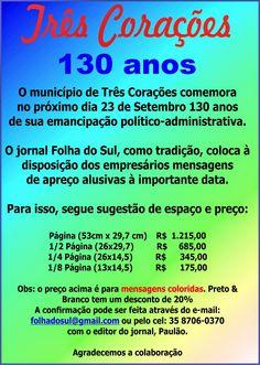 Folha do Sul - Blog do Paulão no ar desde 15/4/2012: JORNAL FOLHA DO SUL E O ANIVERSÁRIO DA CIDADE