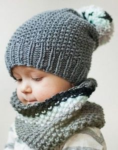 January Baby Names Baby Fashion // Winter Fashion // Hat Crochet // Sweet outfit for your baby Knitted Headband Free Pattern, Crochet Hooded Scarf, Crochet Scarves, Slouchy Beanie Pattern, Diy Crafts Knitting, Diy Crafts Crochet, Knitted Hats Kids, Baby Hats Knitting, Knit Hats
