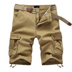 2017 Summer New Arrival Brand Board Shorts Men Fashion Bermudas Short Mens Casual Male Cargo Shorts Bermuda Masculina