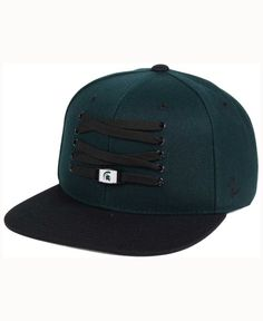 Zephyr Michigan State Spartans Basketball Lacer Snapback Cap