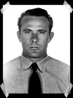John William Anglin. Escaped from Alcatraz. June 1962.