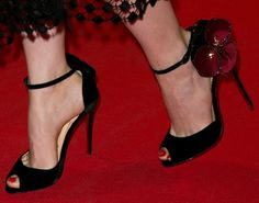 "Christian Louboutin ""Pensamoi"" sandals (Emma Stone - 'Magic In The Moonlight' Paris Premiere)"