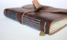 I love the color thread with this leather.