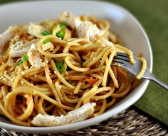 Sesame Noodles with Peanut Sauce | Mel's Kitchen Cafe