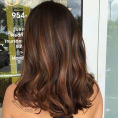 Image result for medium brunette dimensional highlights