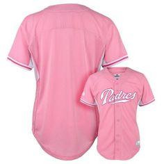 Girls 4-6x Majestic San Diego Padres Batting Practice MLB Jersey $12.00