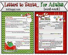 Letter to Santa 2013… for Adults! {wink-wink}  December 5, 2013  by Jillene Petersen Leave a Comment