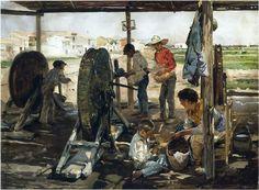 Joaquin Sorolla Bastida Loscordeleros1893
