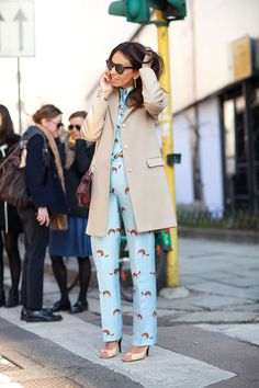 Street Style Trend Report: Head-to-Toe