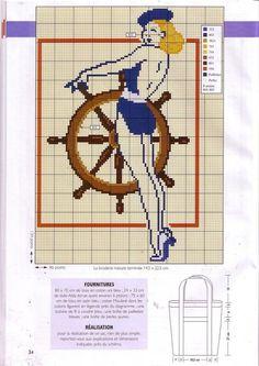 Maritim Sticken / cross stitch marine nautic