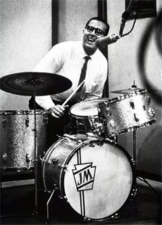 Joe Morello - excellent jazz drummer. During the fifties and sixties, had stints with Stan Kenton, Marian McPartland, and Dave Brubeck.