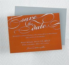 Contemporary Elegance Save the Date MAGNET
