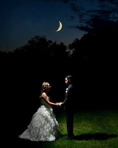 My moonlight wedding picture :) By Centennial Image in Davison Mi