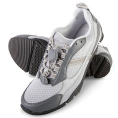 The Lady's Knee Pain Relieving Walking Shoes - Hammacher Schlemmer