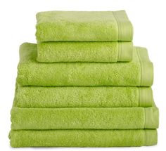 This Colour Green For My Theme The Salon Would Have Treatment Towels As Well Detalles Pinterest Dorm Bathroom And