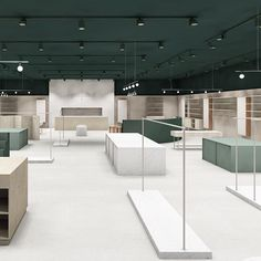 """Cannot wait to see more of this design! """"New store Øgonblick."""" - Note Design Studio Design by Retail Interior Design, Showroom Design, Retail Store Design, Retail Stores, Small Store Design, Clothing Store Interior, Boutique Interior, Window Display Retail, Retail Displays"""