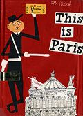 Explained to my kids today how the Seine goes around the Ile de la Cite in Paris just the way the river flowed either side of Tashbaan in The Horse and His Boy. Of course M. Sasek had a picture of that. Love his style. Love having a shelf-full of his eclectic city books to pull off when you need a funky illustration to make a point!