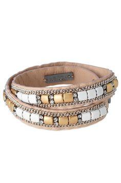 Bracelet Cady - doré/neutre by Stella & Dot