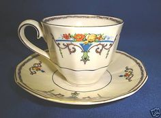 Myott and Sons China Cup and Saucer | eBay