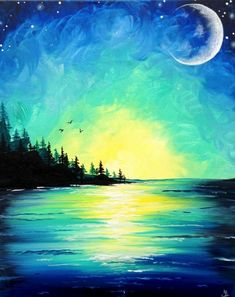 Join us for a Paint Nite event Sun May 2018 at 2434 Old Stringtown Road Grov. Join us for a Paint Nite event Sun May 2018 at 2434 Old Stringtown Road Grove City, OH. Purchase your tickets online to reserve a fun night out! Oil Pastel Art, Pastel Drawing, Easy Landscape Paintings, Landscape Art, Mountain Paintings, Acrylic Art, Painting Inspiration, Watercolor Art, Canvas Art