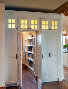 Cute and clever pantry