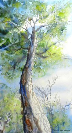 Un'altra vista - acquerello / watercolor | Cristina Dalla Valentina Gallery