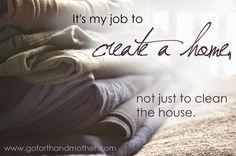 Finding Purpose in Housekeeping