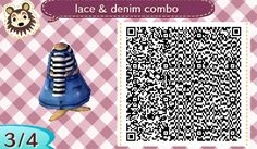 Lace Denim Stripes 3