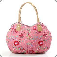 "OILILY Bag ""Summer Romance"" Shopper Coral. www.milksugar.de"