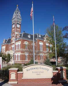 Maryville is the county seat of Nodaway County and home to the Nodaway County Courthouse located on the downtown square in the heart of Maryville.