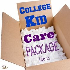 College care packages your kids will love for birthdays, the holidays, or just to say I love you! http://thestir.cafemom.com/teen/176933/college_care_package_ideas_homemade